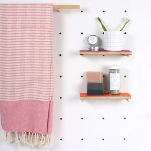 Handwoven Hammam Towels, Miami - bathroom