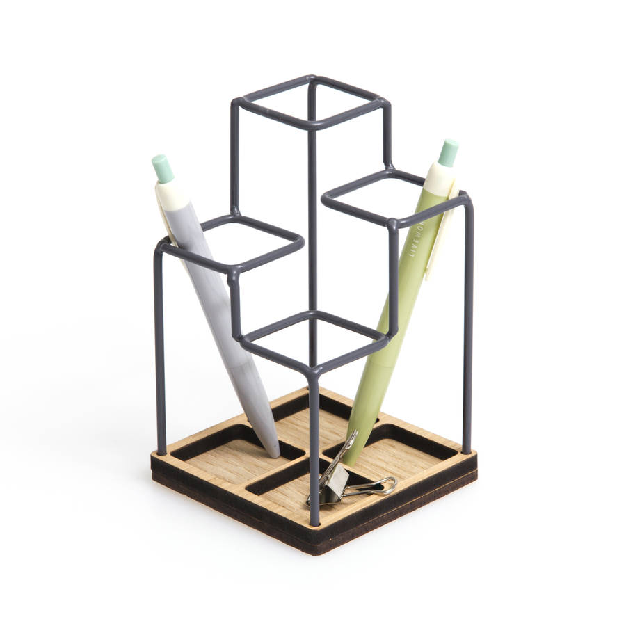 Sketch Desk Tidy Black By Block Design