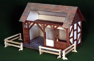 Build Your Own Wooden Stable