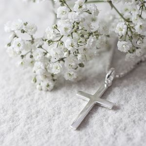 Sterling Cross Necklace - necklaces & pendants