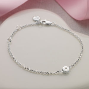 April Birthstone - christening jewellery