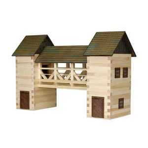 Build Your Own Wooden Bridge - traditional toys & games