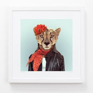 Cheetah Art Print - animals & wildlife
