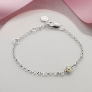 June Birthstone Bracelet - birthstone jewellery gifts