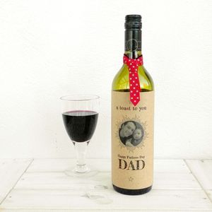 A Toast To You Dad Fathers Day Bottle Card - gifts from adult children
