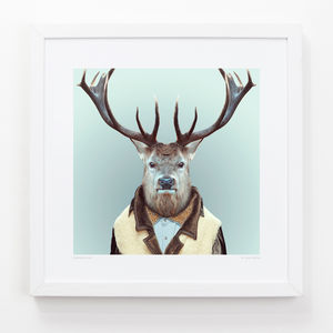 Deer Art Print - contemporary art