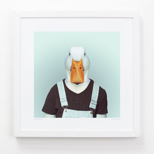 Duck Art Print - children's pictures & paintings