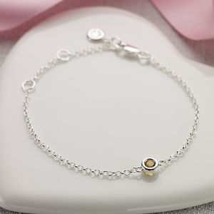 November Birthstone Bracelet - women's jewellery