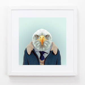 Eagle Art Print - posters & prints for children