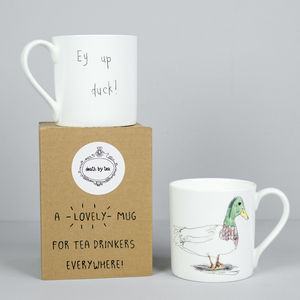 'Ey Up Duck' Mug - mugs