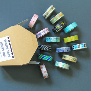 Washi Tape Bumper Pack Of 15 - ribbon & wrap