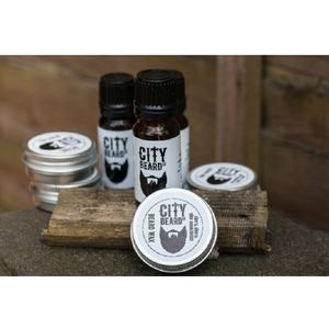 Cedarwood And Ylang Ylang Beard Wax And Oil Set - stocking fillers under £15