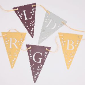 Design Your Own Wedding Bunting - bunting & garlands