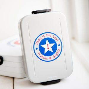 Personalised Dad's Lunch Box