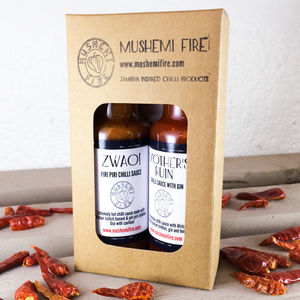 Very Hot Chilli Sauce Box - food gifts