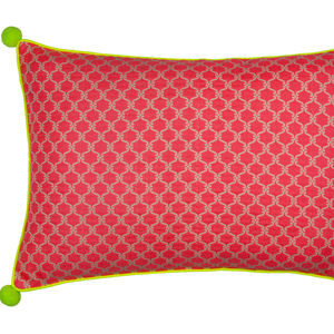 Swirl Print Cushion