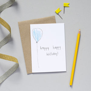 'Happy, Happy Birthday' Card