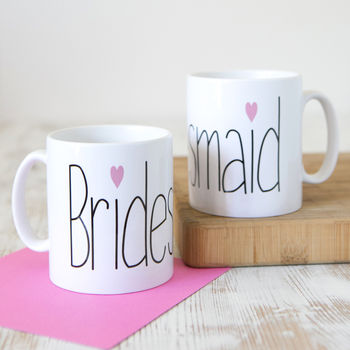 'Bridesmaid' Gift Mug