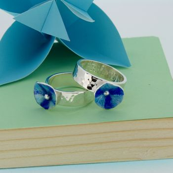Personalised Enamelled Ring Of Sennen