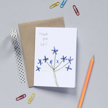 'Thank You Lots' Card