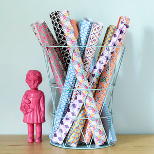 Bumper Pack Of Patterned Wrapping Or Crafting Paper - ribbon & wrap