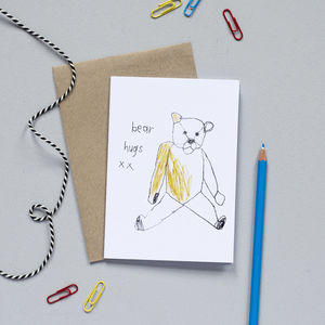 'Bear Hugs' Card