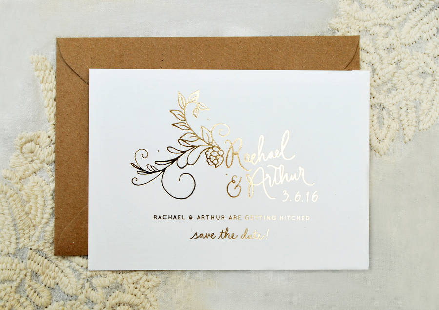 foil wedding invitation - 28 images - gold foil wedding invitations ...