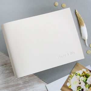 Small Leather Wedding Album