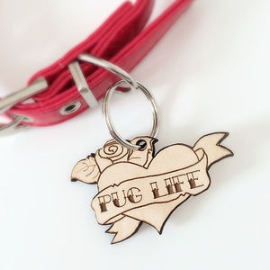 'Pug Life' Dog Tag - pet tags & charms