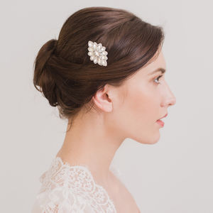 Deco Wedding Hair Comb - tiaras & hair combs