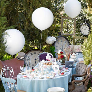 Giant White Balloon - outdoor decorations