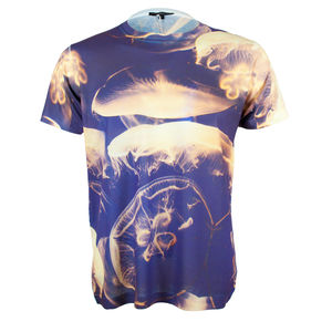 Unisex Photographic Jellyfish Printed T Shirt Tee