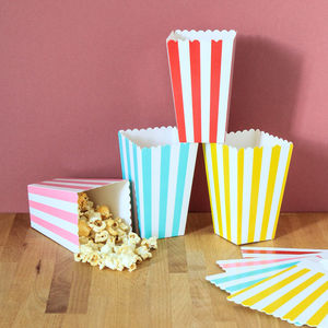 Card Party Popcorn Boxes - room decorations