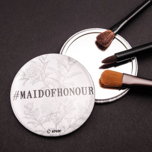 #Maid Of Honour Pocket Mirror - beauty accessories