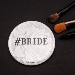 #Bride Pocket Mirror