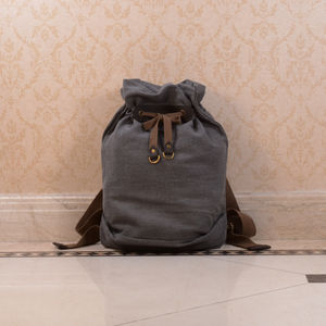 Canvas Vintage Style Backpack
