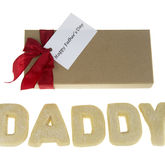 Father Personalised Shortbread Letters - food & drink