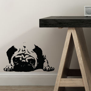 It's A Pugs Life Wall Sticker - wall stickers