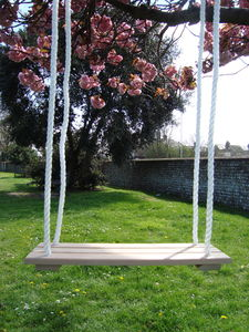 Wooden Swing - garden furniture