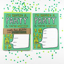 Monsters Kid's Party Invitations