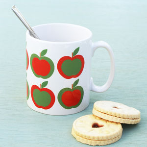 Apple Pattern Mug
