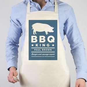 Butcher Personalised Apron - kitchen