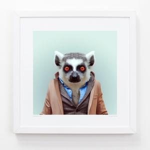 Lemur Two Art Print - contemporary art