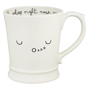 Sleepy Kawaii Emoticon Muggsie Mug