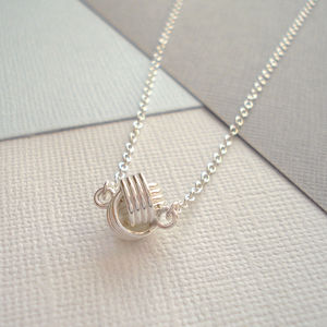 Love Knot Necklace In Sterling Silver