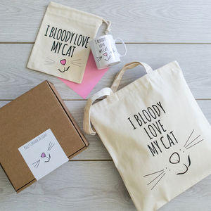 'Bloody Love My Cat' Gift Box