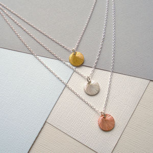 Mixed Metal Layered Necklace Set - rose gold jewellery