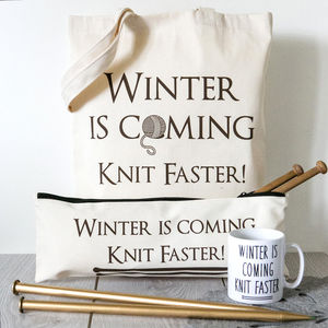 'Winter Is Coming' Knitting Gift Box