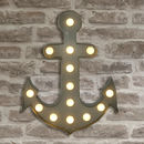 Metal L.E.D. Anchor