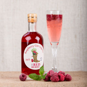 Raspberry Gin Liqueur - food & drink gifts under £30